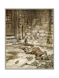 Ballad, Young Bekie 2 Giclee Print by Arthur Rackham