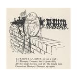 Humpty Dumpty Giclee Print by Arthur Rackham