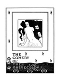 The Comedy of the Rhinegold Premium Giclee Print by Aubrey Beardsley