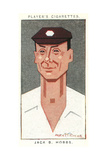 Sir Jack Hobbs - English Cricketer Giclee Print by Alick P.f. Ritchie