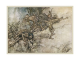 Theatre, Play, Shakespeare Giclee Print by Arthur Rackham