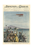 Macchi Breaks Record Giclee Print by Achille Beltrame