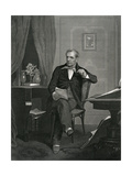 J Fenimore Cooper Giclee Print by Alonzo Chappel