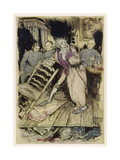 Tell Tale Heart Giclee Print by Arthur Rackham