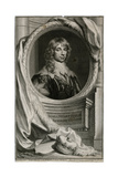 James Duke of Richmond Giclée-Druck von Antony Van Dyck