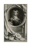 James Duke of Richmond Giclee Print by Antony Van Dyck
