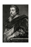 Franciscus Franck Giclée-Druck von Antony Van Dyck