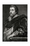 Franciscus Franck Giclee Print by Antony Van Dyck