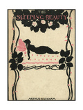 Sleeping Beauty Premium Giclee Print by Arthur Rackham
