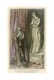 Winters Tale - Statue Giclee Print by Arthur Rackham