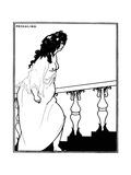 Messalina Premium Giclee Print by Aubrey Beardsley