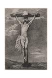 Jesus on Cross Vandyck Giclée-Druck von Antony Van Dyck