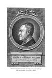 Johann Georg Sulzer Giclée-tryk af Anton Graff