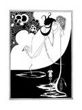 Aubrey Beardsley - The Climax Digitálně vytištěná reprodukce