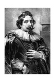 Deodato Delmont Giclée-Druck von Antony Van Dyck