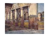 Pompeii, Stabian Baths Giclee Print by Alberto Pisa
