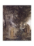 Midsummer Nights Dream Giclee Print by Arthur Rackham