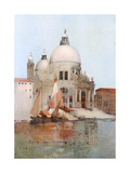 Venice, S Maria Salute Giclee Print by Arthur Melville