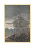 The Norns Vanish Giclee Print by Arthur Rackham