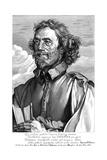 Francois Junius Giclée-Druck von Antony Van Dyck