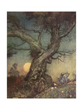 Fairy Folk Lámina giclée por Arthur Rackham