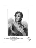 Jean Comte de Rapp Giclee Print by Antoine Jean Gros