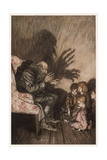 Spooky Stories Giclee Print by Arthur Rackham