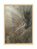 The Rhinemaidens Premium Giclee Print by Arthur Rackham