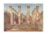 Pompeii:Casa Di Ariadne Giclee Print by Alberto Pisa