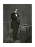 Lewis Cass Giclee Print by Alonzo Chappel