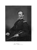 William Tecum. Sherman Giclee Print by Alonzo Chappel
