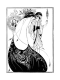 The Peacock Skirt Giclee Print by Aubrey Beardsley