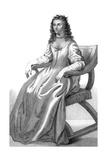 Duchess of Newcastle Giclée-Druck von Abraham Van Diepenbeck
