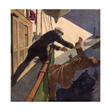 Suspected Brit Smuggler Giclee Print by Andre Gallard