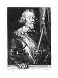Carlo Di Colonna Giclée-Druck von Antony Van Dyck