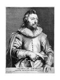 Jacob Van Cachopin Giclée-Druck von Antony Van Dyck