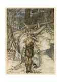 Dragons' Blood Giclee Print by Arthur Rackham
