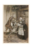 Törnrosa Gicléetryck av Arthur Rackham