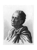 Montesquieu (1689-1755) Giclee Print by Ambroise Tardieu