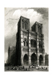 Paris, France - Notre-Dame Giclee Print by B. Winkles