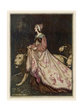 The Lady and the Lion Giclee Print by Arthur Rackham