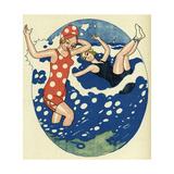 Bathing Beauties 1914 Giclee Print by Axel Nygaard