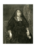 Countess of Exeter Giclée-Druck von Antony Van Dyck