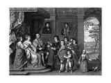 Arundel Family Giclée-Druck von Antony Van Dyck