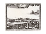 Vienna, Distant C1700 Giclee Print by Carel Allard