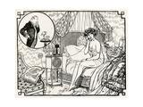 Woman Having an Affair 1918 Giclée-Druck von Armand Vallee