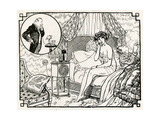Woman Having an Affair 1918 Giclee Print by Armand Vallee