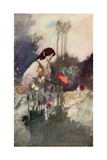 The Sensitive Plant Giclee Print by Charles Robinson