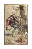 Taming of the Shrew Giclee Print by Arthur Rackham