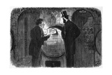 Whisky Drinking Giclee Print by Charles Keene